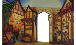 Shop  theatrical backdrop Dick Whittington